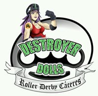 DESTROYER DOLLS ROLLER DEBRY CÁCERES